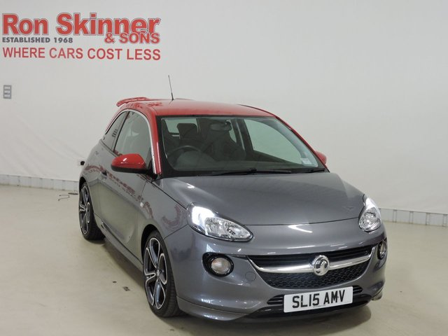 View our 2015 15 VAUXHALL ADAM 1.4 GRAND SLAM S/S 3d 148 BHP