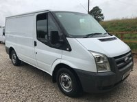 2010 FORD TRANSIT T280 85PS SWB LOWROOF **NO VAT** £2495.00