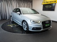 USED 2013 13 AUDI A3 2.0 TDI S LINE 3d 148 BHP £0 DEPOSIT FINANCE AVAILABLE, AIR CONDITIONING, AUDI DRIVE SELECT, BLUETOOTH CONNECTIVITY, CLIMATE CONTROL, DAYTIME RUNNING LIGHTS , FULL S LINE LEATHER UPHOLSTERY, STEERING WHEEL CONTROLS, TRIP COMPUTER