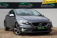 USED 2013 13 VOLVO V40 1.6 D2 R-DESIGN 5d 113 BHP £0 DEPOSIT FINANCE AVAILABLE, AIR CONDITIONING, BLUETOOTH CONNECTIVITY, DAB RADIO, DAYTIME RUNNING LIGHTS, FULL R DESIGN LEATHER UPHOLSTERY, INTELLIGENT DRIVER INFORMATION SYSTEM, STEERING WHEEL CONTROLS