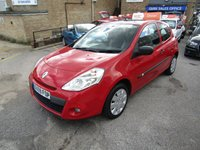 USED 2009 59 RENAULT CLIO 1.1 EXTREME 3d 74 BHP
