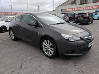 USED 2014 64 VAUXHALL ASTRA 2.0 GTC SRI CDTI S/S 3d 162 BHP SH * CRUISE CONTROL * GOT BAD CREDIT * WE CAN HELP *