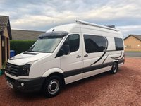 2012 VOLKSWAGEN CRAFTER 2.0 CR35 TDI 1d 107 BHP STUNNING HIGH SPEC CAMPER CONVERSION £27950.00