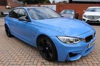 2015 BMW M3 3.0 M3 4d AUTO 426 BHP £35995.00
