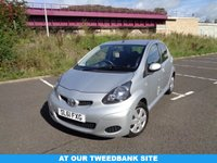 USED 2011 61 TOYOTA AYGO 1.0 VVT-I ICE 5d 68 BHP LOW ROAD TAX