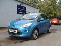 USED 2012 61 FORD KA 1.2 ZETEC 3d 69 BHP AT OUR TWEEDBANK SITE