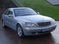 USED 2002 02 MERCEDES-BENZ S CLASS 5.0 S500 4d 302 BHP FULL MERCEDES SERVICE RECORD +  1 PREVIOUS KEEPER +  PARKING SENSORS +  REVERSE PARKING CAMERAS +