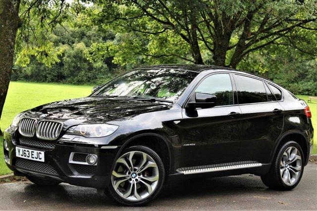 2013 63 BMW X6 3.0 XDRIVE40D 4d AUTO 302 BHP