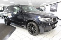 USED 2014 63 BMW X5 3.0 40D M SPORT AUTO 309 BHP XDRIVE 360 CAMS 20'S HEATED REAR SEAT
