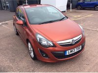 USED 2013 13 VAUXHALL CORSA 1.4 SXI AC 3d 98 BHP FULL SERVICE HISTORY, 12 MONTHS MOT