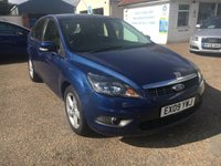 USED 2009 09 FORD FOCUS 1.6 ZETEC 5d 100 BHP FULL SERVICE HISTORY