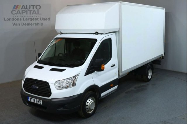 2016 16 FORD TRANSIT 2.2 350 124 BHP L4 EXTRA LWB TAIL LIFT FITTED LUTON VAN