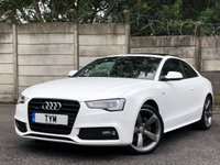 USED 2013 13 AUDI A5 2.0 TFSI QUATTRO S LINE BLACK EDITION 2d 222 BHP SAT NAV/B&O/LEATHER/XENON/PDC/LOW MILES