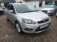 USED 2008 58 FORD FOCUS 1.6 TITANIUM 5d 100 BHP ** NOW SOLD ** NOW SOLD **