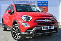 USED 2015 15 FIAT 500X 2.0 MULTIJET CROSS PLUS 4x4 AUTO Stunning Looking 5dr Family SUV **ONE FORMER KEEPER**