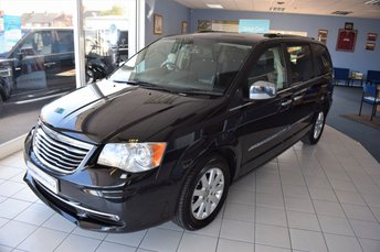 2013 CHRYSLER GRAND VOYAGER 2.8 CRD LIMITED 5d AUTOMATIC 178 BHP MASSIVE SPECIFICATION  £17990.00