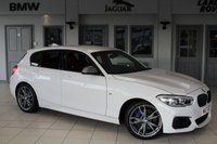 USED 2017 17 BMW 1 SERIES 3.0 M140I 5d 335 BHP FULL RED LEATHER SEATS + SATELLITE NAVIGATION + LED HEADLIGHTS + 18 INCH ALLOYS + BLUETOOTH + DAB RADIO + PARKING SENSORS