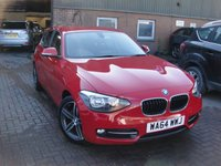 2014 BMW 1 SERIES 2.0 116D SPORT 5d 114 BHP £8680.00