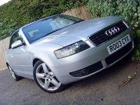USED 2003 03 AUDI A4 2.4 SPORT 2d 168 BHP