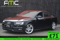 USED 2014 64 AUDI A5 2.0 SPORTBACK TDI S LINE 5d 177 BHP Full Audi Service History - Heated Leather - Navigation