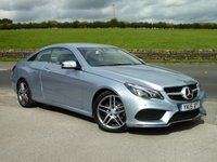 USED 2015 15 MERCEDES-BENZ E CLASS 3.0 E350 BLUETEC AMG LINE 2d AUTO 255 BHP ONE OWNER, FULL MERCEDES HISTORY, IMMACULATE