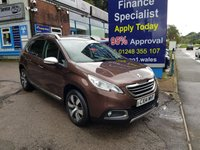 2014 PEUGEOT 2008 1.6 E-HDI ALLURE 5d 92 BHP, only 49000 miles £SOLD