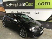 2011 SEAT LEON 2.0 CR TDI FR DSG 5d AUTO 168 BHP £5295.00