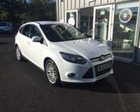 USED 2013 63 FORD FOCUS 1.0 ZETEC NAVIGATOR ECOBOOST 125 BHP THIS VEHICLE IS AT SITE 1 - TO VIEW CALL US ON 01903 892224