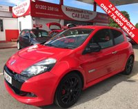USED 2010 10 RENAULT CLIO 2.0 RENAULTSPORT 3d 197 BHP 1 OWNER LOVELY EXAMPLE *ONLY 76,000 MILES*
