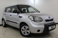 USED 2009 09 KIA SOUL 1.6 1 5DR 125 BHP FULL SERVICE HISTORY + AIR CONDITIONING + RADIO/CD/AUX/USB + ELECTRIC WINDOWS