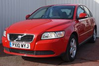 USED 2010 10 VOLVO S40 1.6 S 4d 100 BHP FULL SERVICE HISTORY