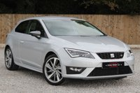 USED 2016 66 SEAT LEON 1.4 ECOTSI FR TITANIUM 3d 148 BHP ***SATELLITE NAVIGATION*** ** BALANCE OF SEAT WARRANTY**