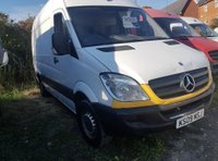 USED 2009 09 MERCEDES-BENZ SPRINTER 2.1 311 CDI MWB 1d 109 BHP REDUCED TO CLEAR