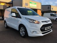 2014 FORD TRANSIT CONNECT 1.6 200 LIMITED P/V 1d 114 BHP £9295.00