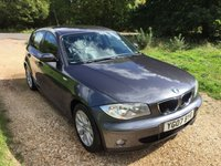 USED 2007 07 BMW 1 SERIES 1.6 116I SE 5d 114 BHP F/S/H, Leather, A/C