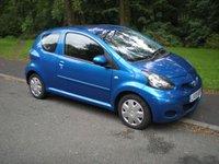 USED 2009 09 TOYOTA AYGO 1.0 BLUE VVT-I 3d 67 BHP