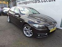 2013 BMW 5 SERIES 2.0 520D MODERN 4d AUTO 181 BHP £14995.00
