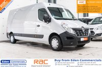 USED 2017 67 RENAULT MASTER 2.3 LM35 BUSINESS DCI 130 BHP * 3 YEARS RENAULT WARRANTY UNTIL DEC 2021 * METALIC SILVER *