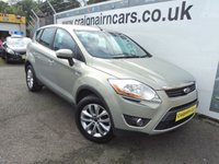 USED 2010 10 FORD KUGA 2.0 TITANIUM TDCI 2WD 5d 134 BHP Last Owner Past 6 Years+Navigation+Full Leather