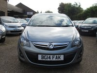 USED 2014 14 VAUXHALL CORSA 1.4 SXI AC 5d 98 BHP BUY NOW - PAY 2019