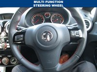 USED 2014 14 VAUXHALL CORSA 1.4 SXI AC 5d 98 BHP STEERING WHEEL MOUNTED AUDIO CONTROLS