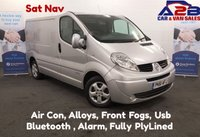USED 2011 61 RENAULT TRAFIC 2.0  SPORT 115 BHP Air Con, Sat Nav, Bluetooth, 3 Seats, Alloys  Just Serviced and MOTd. ,Electric Pack,   **Drive Away Today** Over The Phone Low Rate Finance Available, Just Call us on 01709 866668