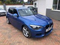 2013 BMW 1 SERIES 2.0 118D M SPORT 5d 141 BHP £13495.00