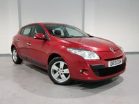 USED 2010 10 RENAULT MEGANE 1.6 DYNAMIQUE TOMTOM VVT 5d 110 BHP Nationwide Warranty + Full Service History + No Deposit Low Rate Finance Available.