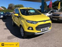 USED 2016 16 FORD ECOSPORT 1.0 TITANIUM 5d 124 BHP NEED FINANCE? WE CAN HELP!
