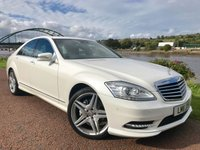 USED 2011 11 MERCEDES-BENZ S CLASS 3.0 S350 BLUETEC 4d AUTO 258 BHP **AMG SPORT PACKAGE**