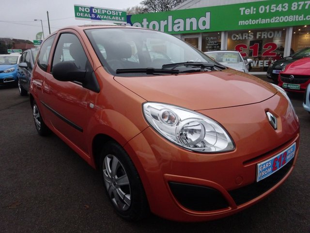 USED 2010 10 RENAULT TWINGO 1.1 FREEWAY 3d 58 BHP £0 DEPOSIT FINANCE DEAL AVAILABLE....LOW INSURANCE.....TEST DRIVE TODAY CALL 01543 877320