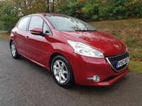 USED 2012 62 PEUGEOT 208 1.4 ACTIVE 5d 95 BHP **1 OWNER**GREAT CONDITION**SUPERB DRIVE**