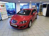 2010 SEAT LEON 1.6 CR TDI ECOMOTIVE SE 5d 103 BHP £5495.00