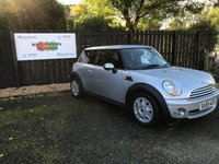 2009 MINI HATCH ONE 1.4 ONE 3d 94 BHP £4850.00
